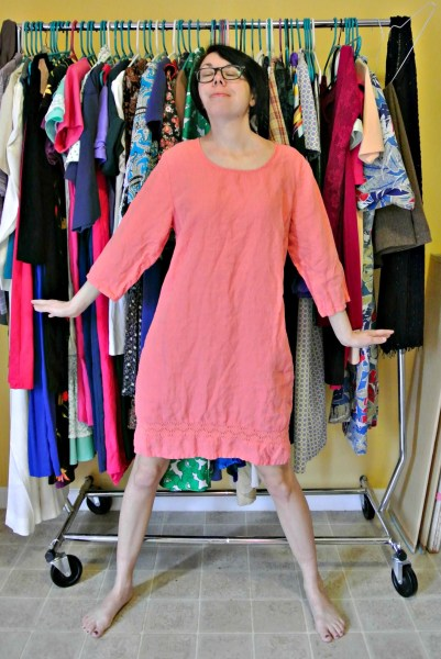 how to add elastic to waist of dress before