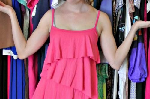 Thoroughly Modern Jilly: A DIY Fringed Dress Refashion 6