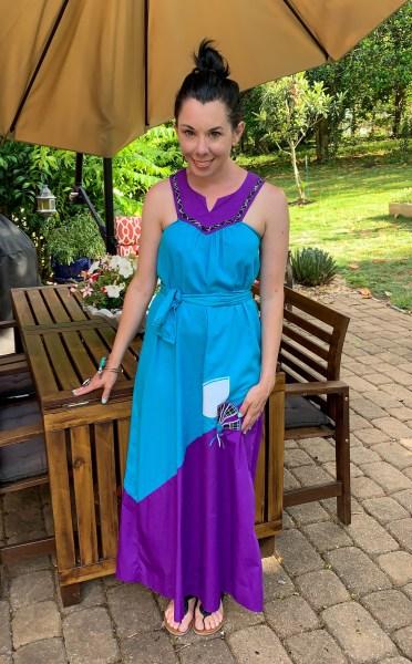 refashionista vintage muumuu dress after