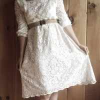 Emily's #Upcycled Tablecloth Dress