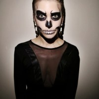 Perrie's #Thrifty #DIY Glam Skeleton Costume