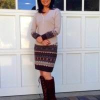 Melissa's #Refashioned Sweater Skirt & Top #Tutorial