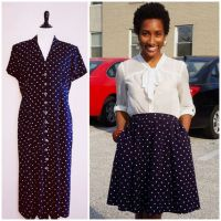 Natalie's Dress to Skirt #Refashion