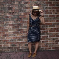 How to #refashion a dress for #Spring