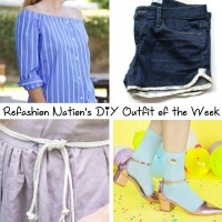 Refashion Nation's #DIY Outfit of the Week