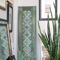 #DIY #Upcycled Door Decor