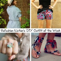 Refashion Nation's 10th #DIY Outfit of the Week