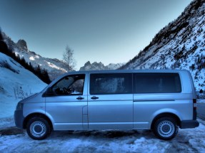 long comfortable vehicle to carry your bags and sports equipment on your private transfers