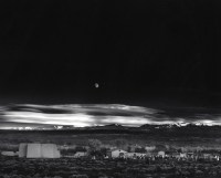 Moonrise over Hernandez, New Mexico, 1941.