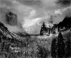Clearing Winter Storm, Yosemite National Park, 1940