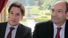 Sébastien Proto et Eric Woerth (AFP)