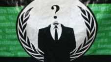 Le logo des Anonymous (Sipa)