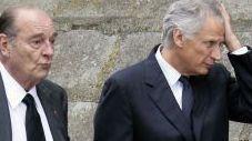 Jacques Chirac et Dominique de Villepin (AFP)