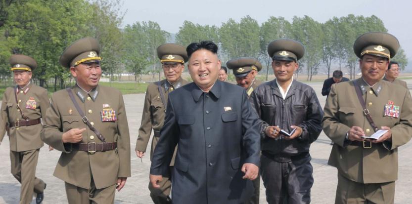 Kim Jong-Un, le 14 mai 2014 à Pyongyang. (KCNA/REUTERS)