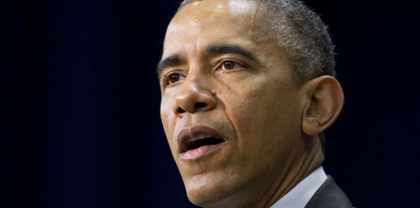 Barack Obama à la Maison Blanche, le 10 décembre 2014 (Jacquelyn Martin/AP/SIPA).