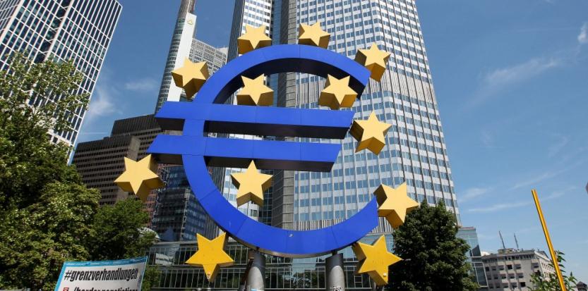 Le siège de la BCE. DANIEL ROLAND/AFP