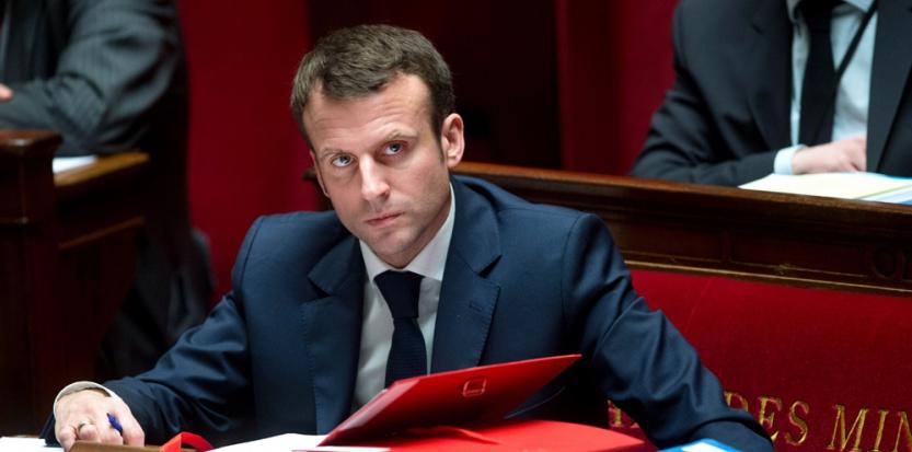 Emmanuel Macron, ministre de l'Economie. SIPA