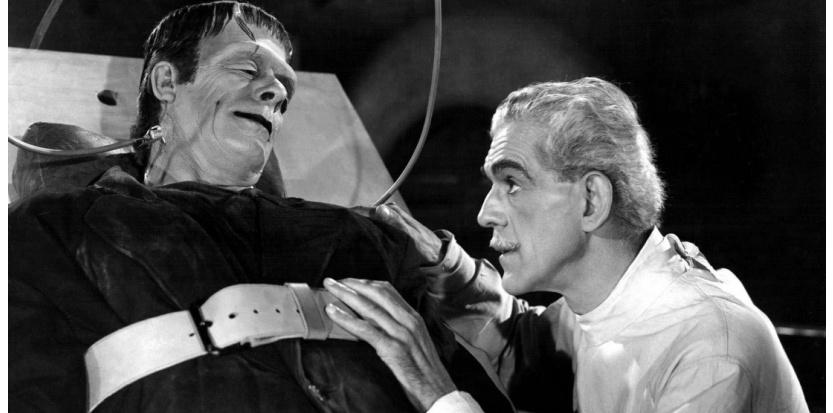 Le projet d'une greffe d'un corps entier sur la tête d'un receveur porté par le Dr Sergio Canavero dresse dans l'inconscient des barrières issues des mythes et fantasmes du monstre de Frankenstein. ©Kobal / The Picture Desk / AFP