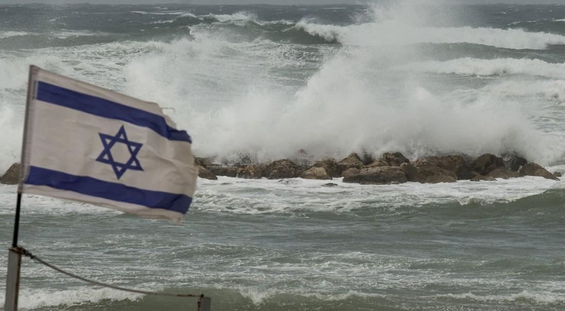 Tempête à Netanya