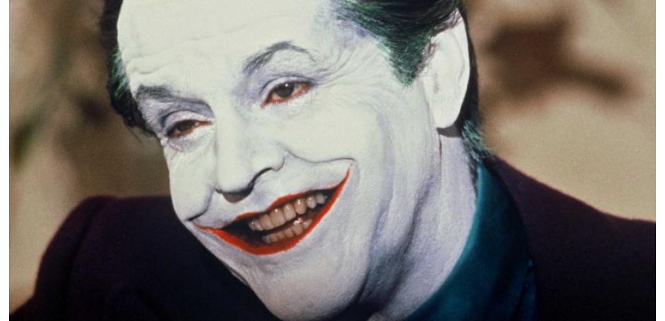 Jack Nicholson dans le rôle du Joker. NANA PRODUCTIONS/ SIPA