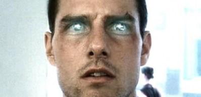 """Tom Cruise dans """"Minority Report"""", de Steven Spielberg, sorti sur les écrans en 2002. (Capture d'écran)"""