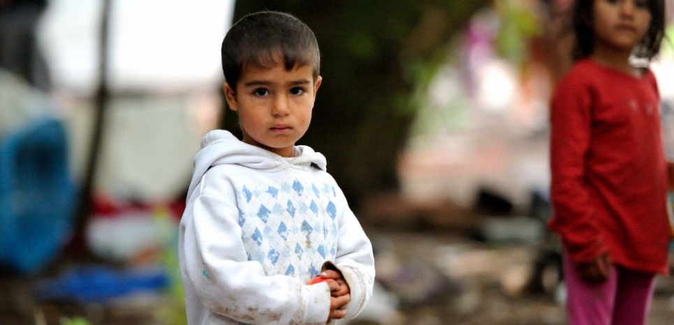 9.000 enfants habitent dans des bidonvilles. PHILIPPE HUGUEN / AFP