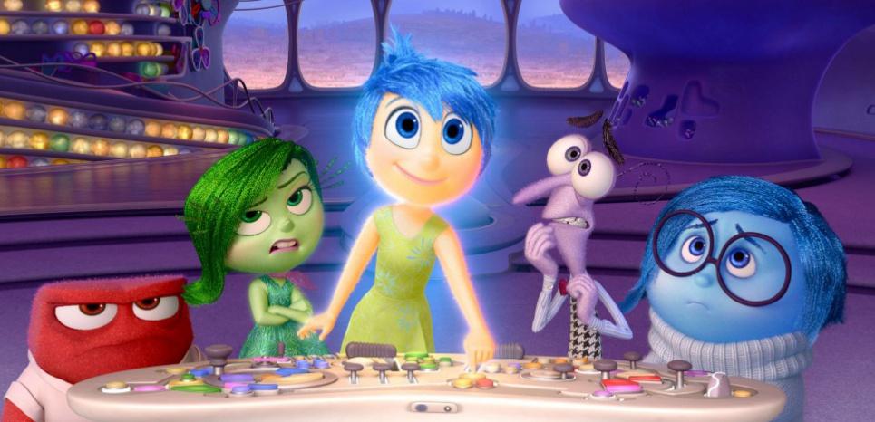 """Dans le film d'animation """"Vice-versa"""" de Pixar, chaque personnage représente une émotion. © Pixar/AP/SIPA"""