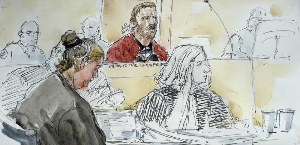 Le procès des parents du petit Bastien s'est terminé vendredi 11 septembre. (BENOIT PEYRUCQ / AFP)