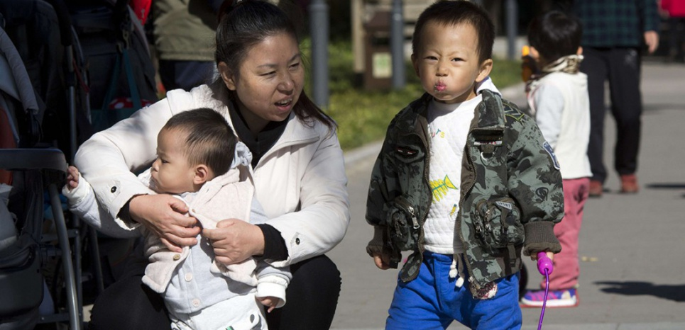 La fin de la politique de l'enfant unique a été annoncée en Chine jeudi 29 octobre. (Sipa)