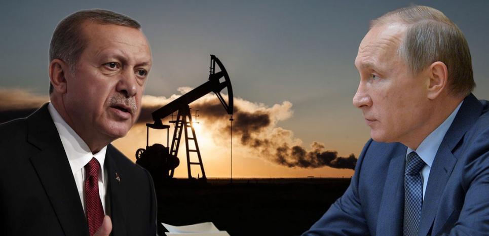 Le président turc Recep Tayyip Erdogan et le président russe Vladimir Poutine. (PHOTOMONTAGE/AFP)
