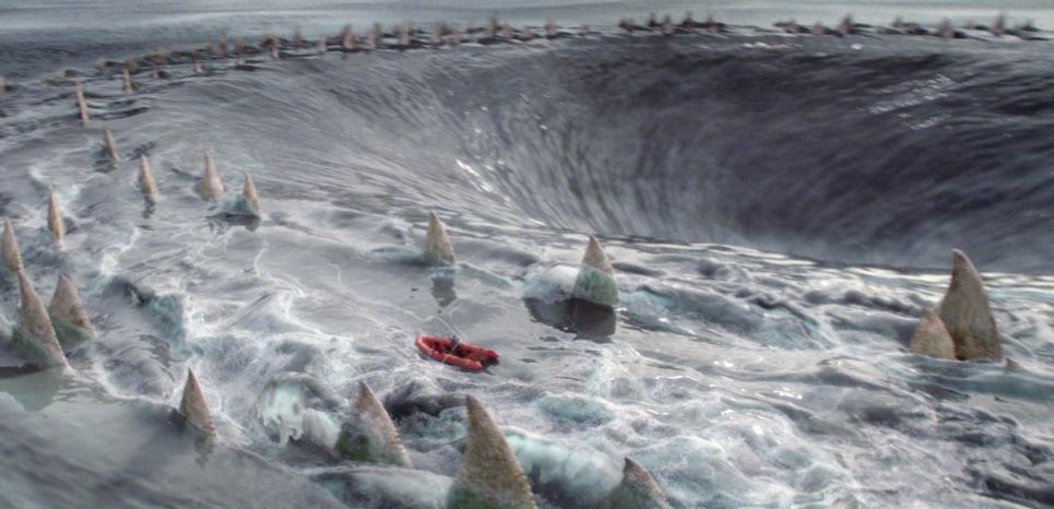 """Dans son film """"Percy Jackson : La Mer des monstres"""" (2013), le réalisateur place la Mer des monstres dans le Triangle des Bermudes. crédit : 20th Century Fox"""