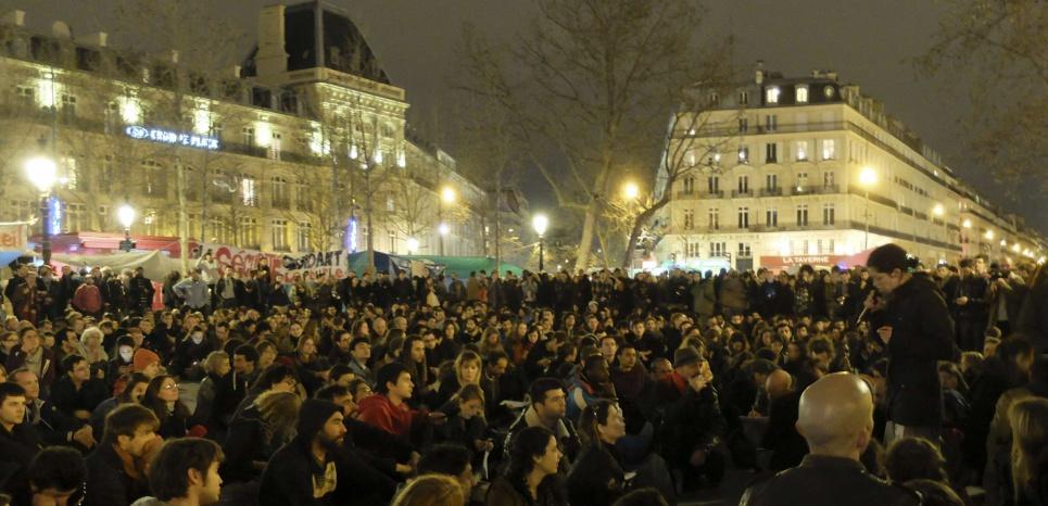 """Nuit Debout : """"Le mouvement est en voie d'extension"""""""