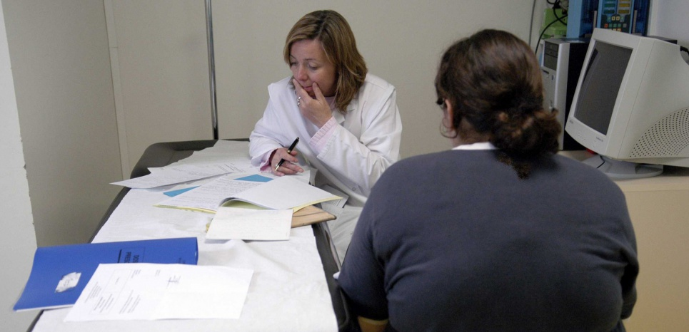 Certains centres pédiatriques accueillent des adolescents obèses et proposent une prise en charge médicale. © DURAND FLORENCE/SIPA