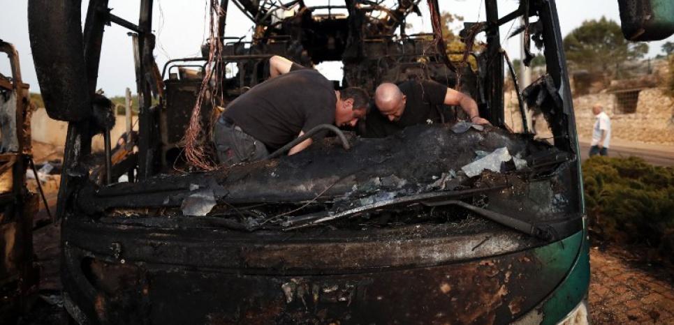 Une explosion dans un bus à Jérusalem fait 21 blessés