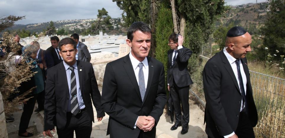 Reconnaissance de l'Etat palestinien : Manuel Valls fait un pas en arrière