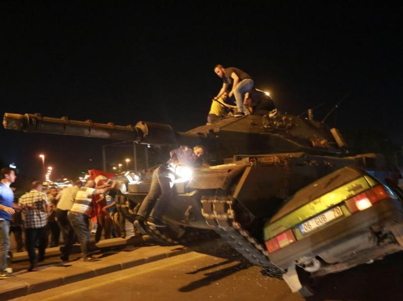 PHOTOS. Tentative de coup d'État en Turquie