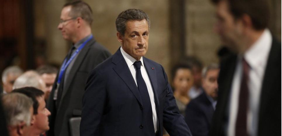 Le chef de Républicains remet en cause l'Etat de droit BENOIT TESSIER / POOL / AFP