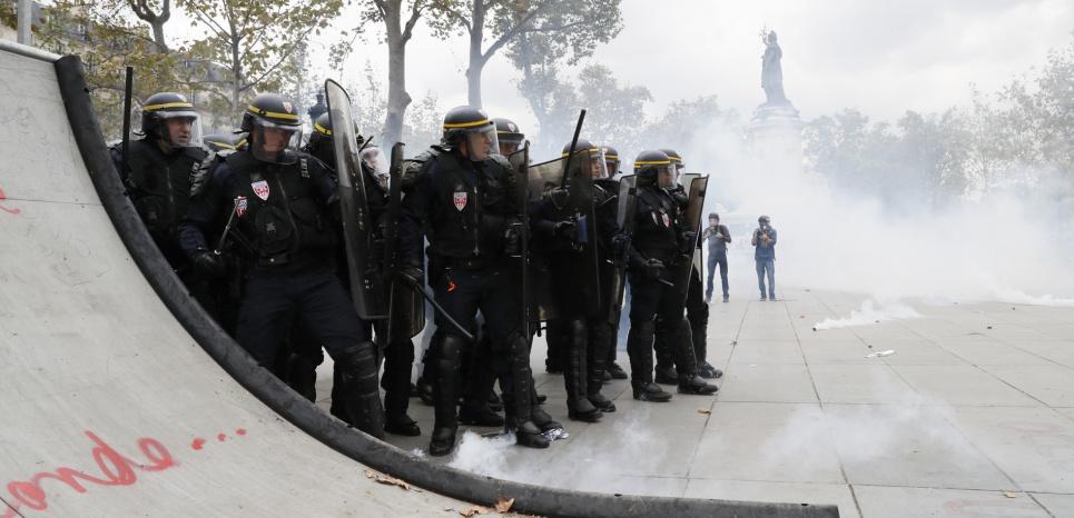 Loi Travail : Un militant perd un œil dans la manif parisienne, l'IGPN saisie