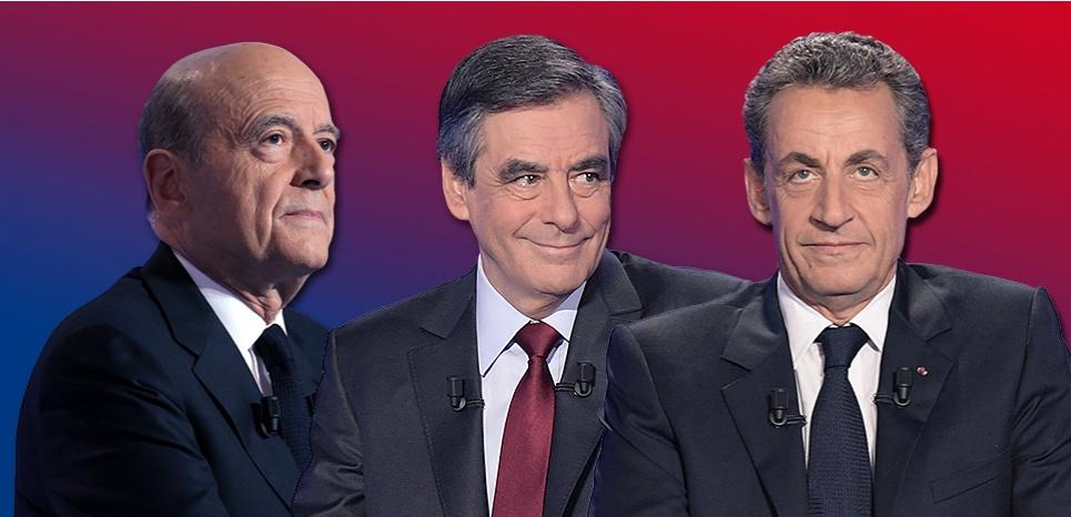 Les résultats de la primaire de la droite : Fillon 44,1%, Juppé 28,6%, Sarkozy 20,6%