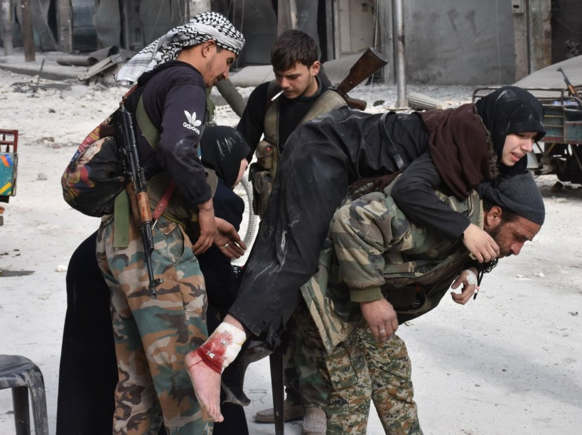 PHOTOS. Bachar al-Assad proche de la victoire à Alep