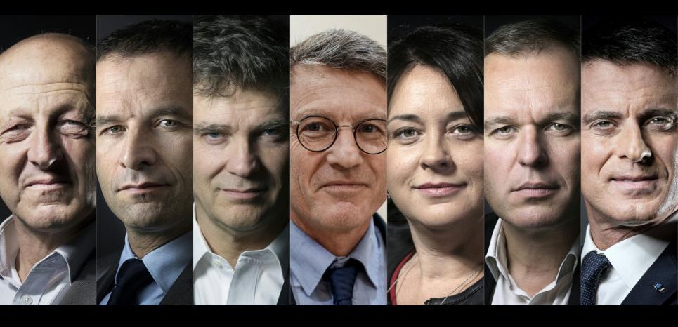 Valls, Montebourg, Hamon et les autres : les sept gladiateurs de la primaire