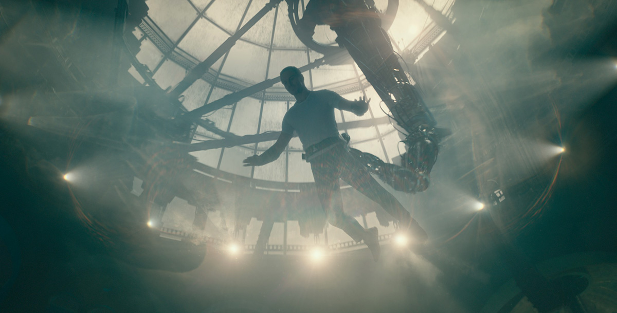 "L'Animus dans le film ""Assassin's Creed"" (20th Century Fox)"