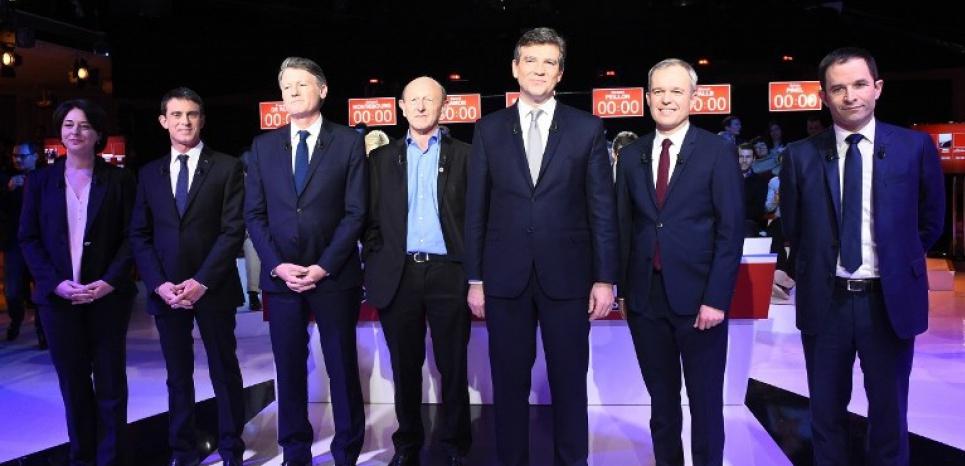 Deuxième débat de la primaire de la gauche.