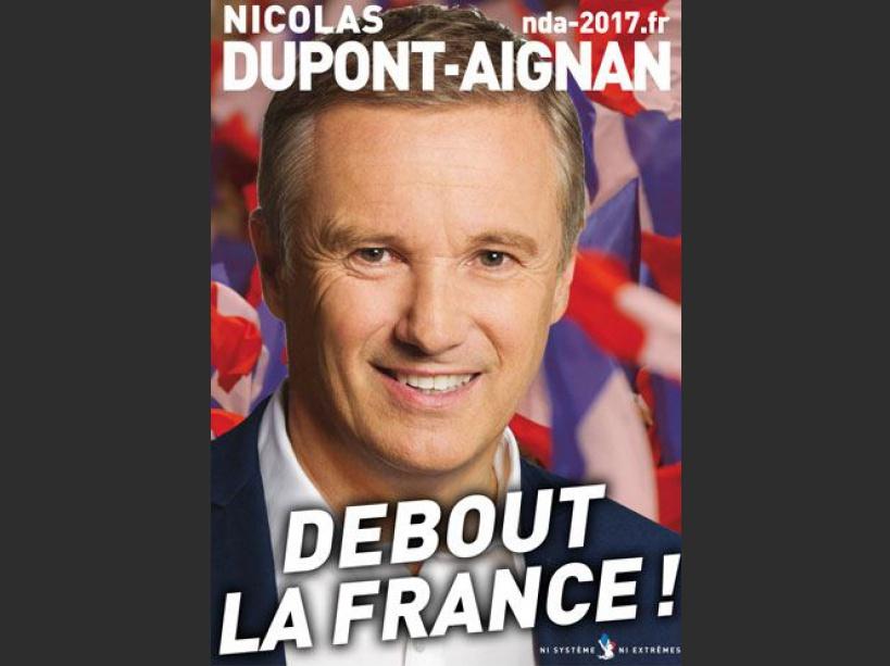 EN IMAGES. Les affiches des 11 candidats à la présidentielle 2017