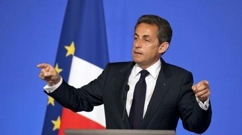 Nicolas Sarkozy, lors de l'installation du Conseil national du numérique (AFP)