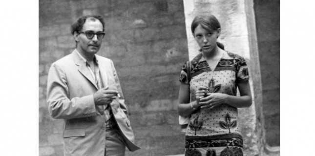 Jean-Luc Godard et Anne Wiazemsky au Festival d'Avignon en 1967 © Heritage Images-Leemage