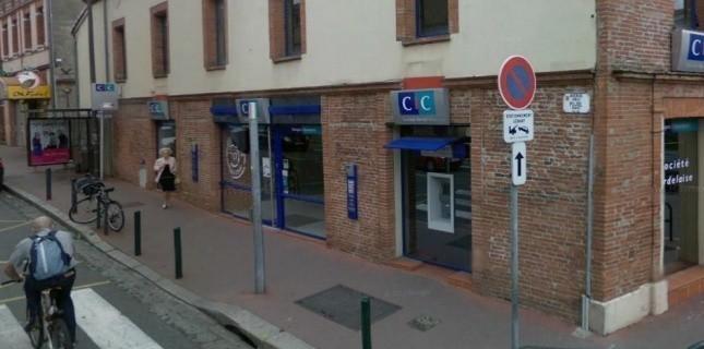 Un homme retient quatre otages dans une banque de Toulouse. (Capture d'écran/Google Map)