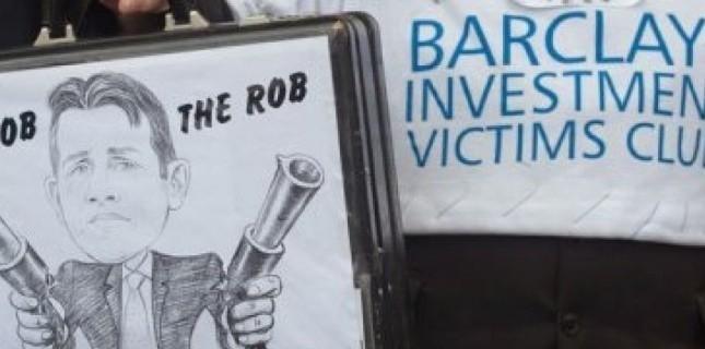 La semaine dernière, Barclays a révélé qu'elle allait payer l'équivalent de 290 millions de livres (environ 360 millions d'euros) pour mettre fin aux enquêtes des régulateurs britannique et américain dans cette affaire de manipulation des taux interbancaires. (c) Afp