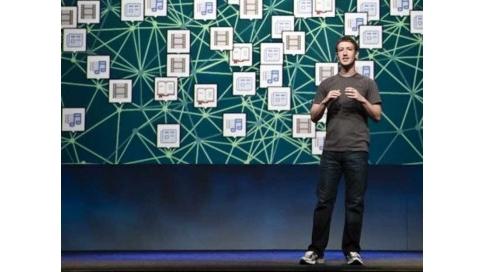 Mark Zuckerberg a annoncé jeudi que son réseau social Facebook avait franchi le seuil du milliard de membres actifs par mois. (c) CNet
