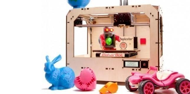 Une imprimante 3D (MakerBot)